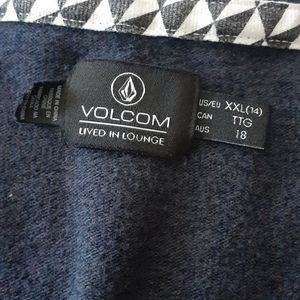 Volcom Sweaters - Volcom Navy Blue Sweater